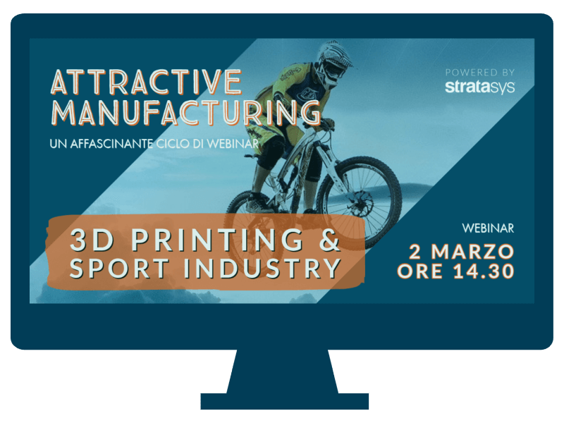 STRATASYS 3D PRINTING & SPORT INDUSTRY
